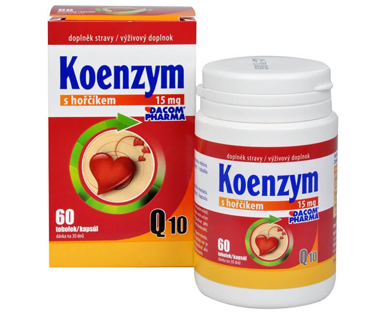 Dacom Pharma Koenzym Q10 s hořčíkem 60 tob.