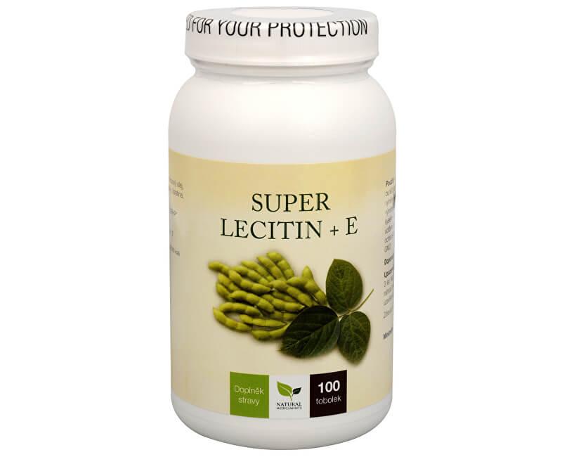 Natural Medicaments Super Lecitin + E 100 tob.