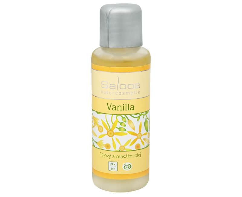 Saloos Bio tělový a masážní olej - Vanilla 50 ml