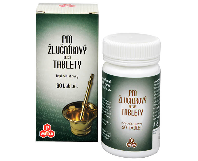 Purus Meda PM Žlučníkový elixír 60 tbl.