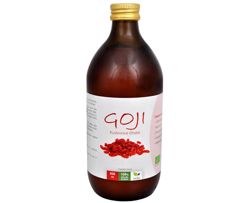 c471ebe20 Natural Medicaments Goji Kustovnica čínska - 100% Bio šťava 500 ml ...