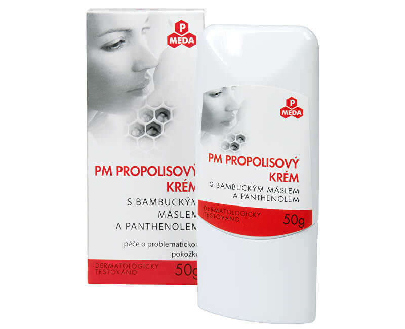 Purus Meda PM Propolisový krém s bambuckým máslem a panthenolem 50 g