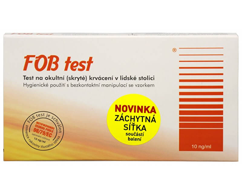 IVT IMUNO FOB test na okultní krvácení v lidské stolici 1 ks