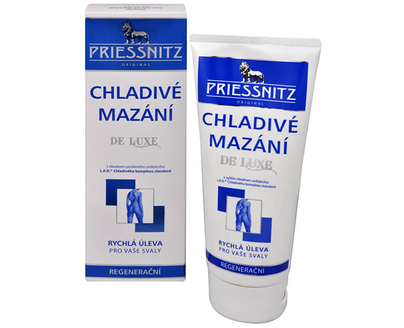 Simply You Priessnitz Chladivé mazání De Luxe 200 ml