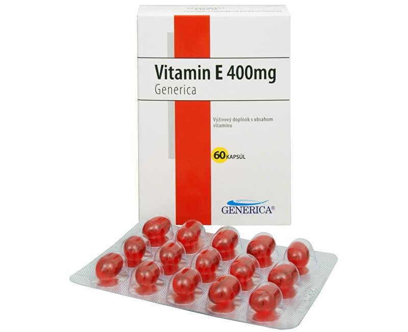 Phoenix Vitamín E 400 mg 60 kapslí