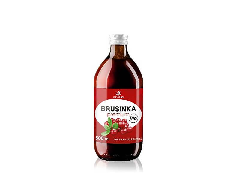 Allnature Brusinka Premium - 100% Bio šťáva 500 ml