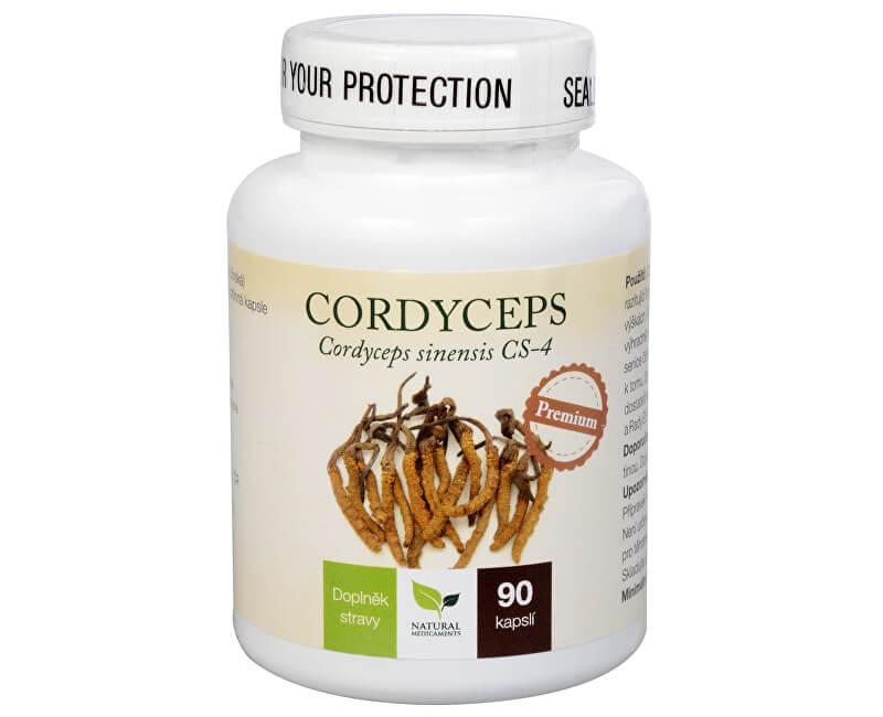 Natural Medicaments Cordyceps Premium 90 kapsúl
