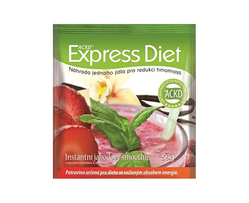 Good Nature Express Diet - instantná jahodový smoothie 59 g