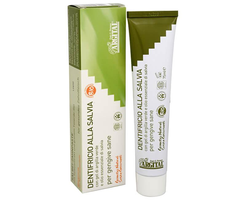 Argital Argital - zubní pasta se šalvějí a zeleným jílem 75 ml
