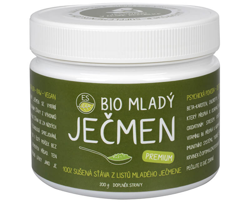 Empower Supplements ES BIO Mladý ječmen Premium 200 g