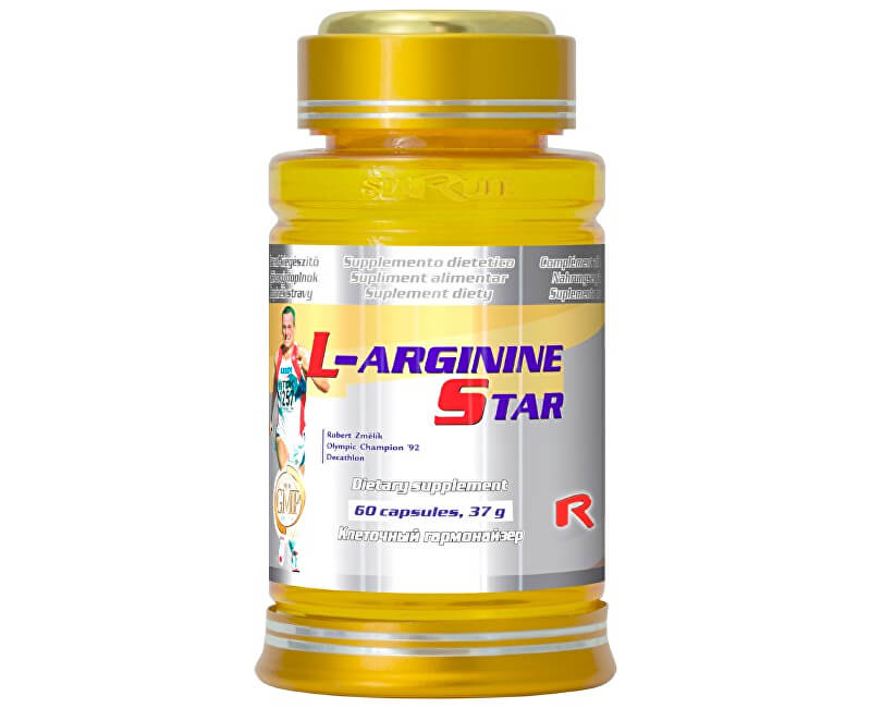 STARLIFE L-ARGININE STAR 60 kapslí