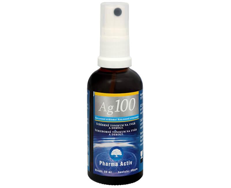 82f6c54b0 Pharma Activ Koloidné striebro Ag100 (40ppm) spray 50 ml ...