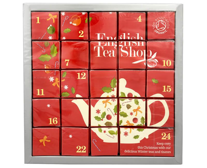 English Tea Shop Adventný kalendár ružový - 12 príchutí - 24 ks