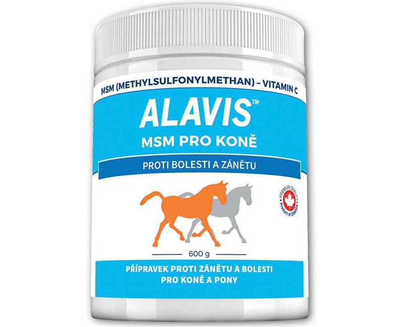 Alavis ALAVIS™ MSM pro koně 600 g  1bd83a4b2d