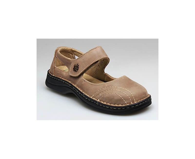 dad276da7ffb2 SANTÉ Zdravotná obuv dámska N / 224/8/43 svetlo hnedá Doprava ZDARMA ...