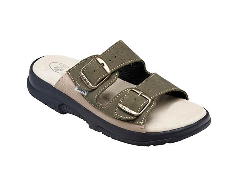 f0e59375616 SANTÉ Zdravotní obuv pánská N 517 36 98 28 CP khaki - SLEVA až 21 Kč ...