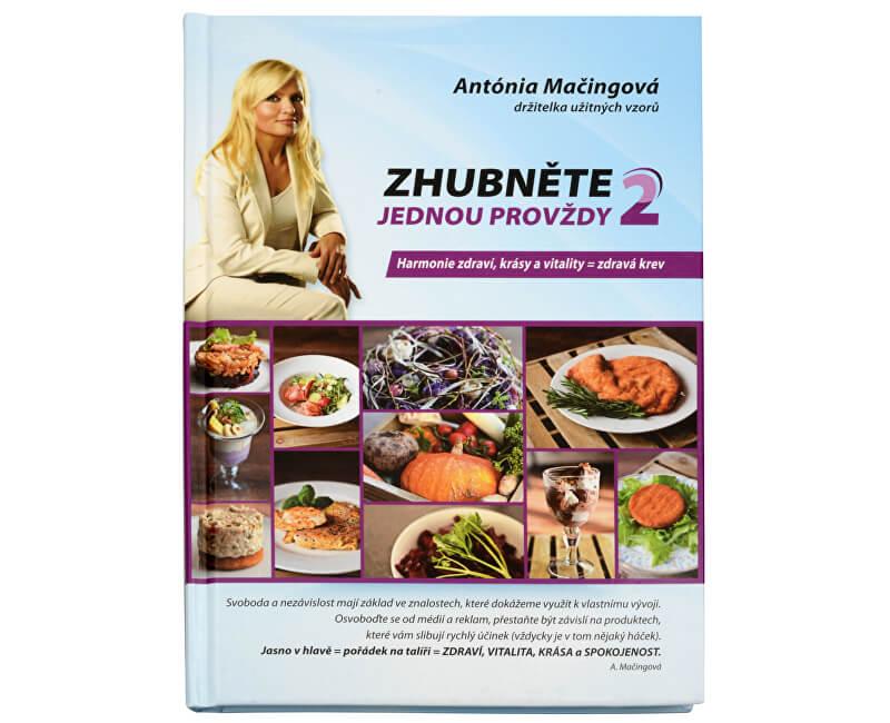 f4317e47c Knihy Schudnite raz a navždy 2 (Mgr. Antónia Mačingová) | PreZdravie ...