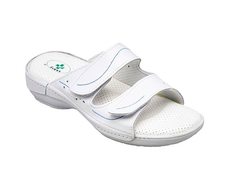 4cd1e5c654 SANTÉ Zdravotná obuv dámska N   124 1 10   B biela