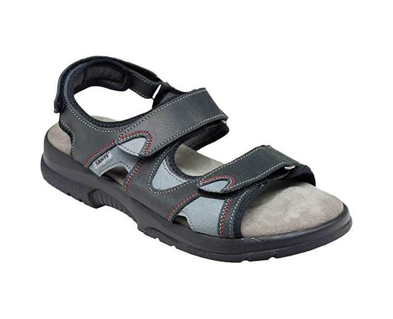 SANTÉ Zdravotní obuv dámská N 517 91 69 16 černá  f2eeeb2a1b8