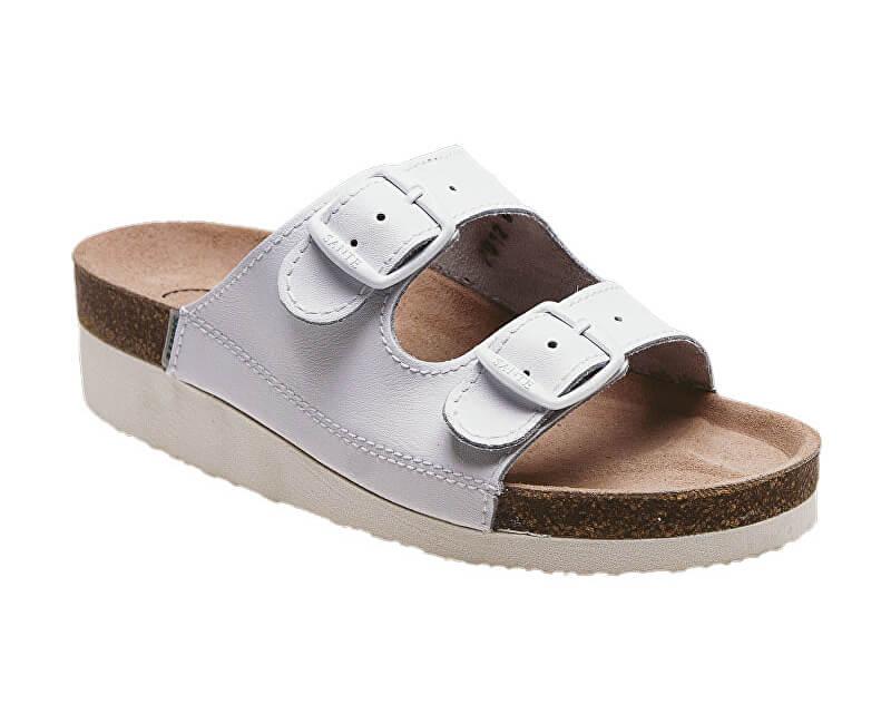 4f516cbc423 SANTÉ Zdravotná obuv Profi dámska N   21 10   K biela