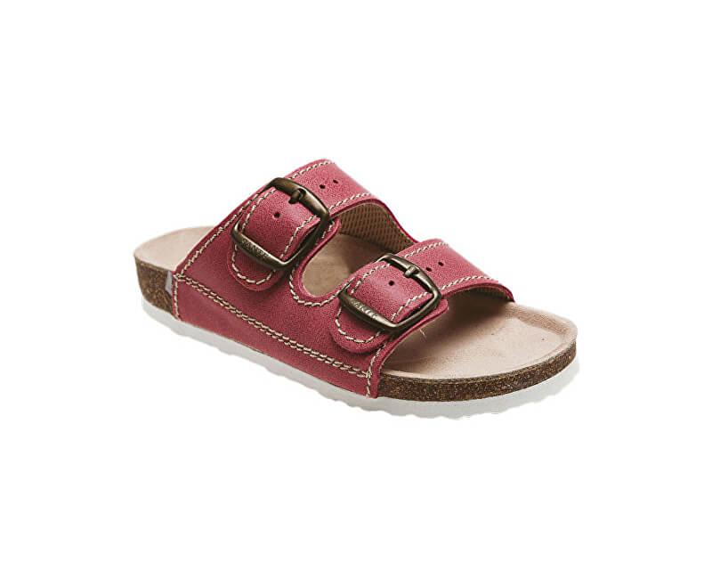 SANTÉ Zdravotní obuv dětská D 202 C30 BP červená  7644dd678b