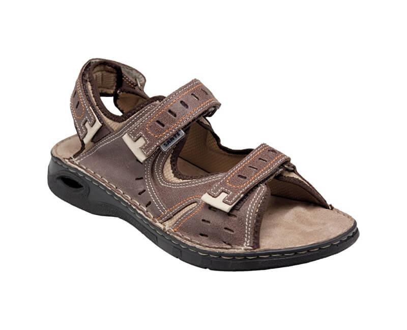 SANTÉ Zdravotní obuv pánská N 158 32 59 hnědá  29a721f981