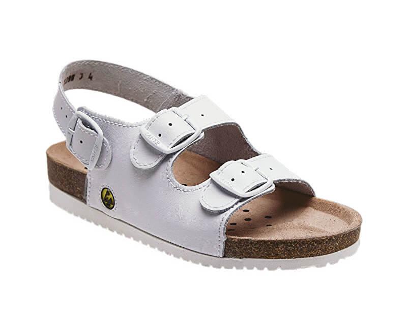 f05099a95800 SANTÉ Zdravotná obuv Profi pánska N   32 10   E biela