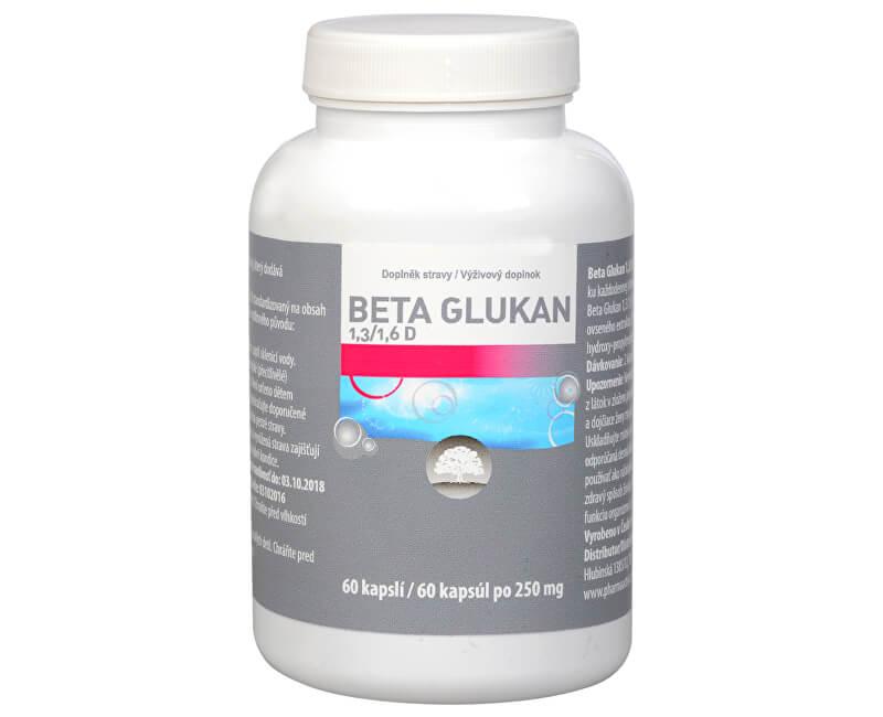 4a95316f1 Pharma Activ Beta Glukán 1,3 / 1,6 D čistý 60 kapsúl   PreZdravie.sk ...