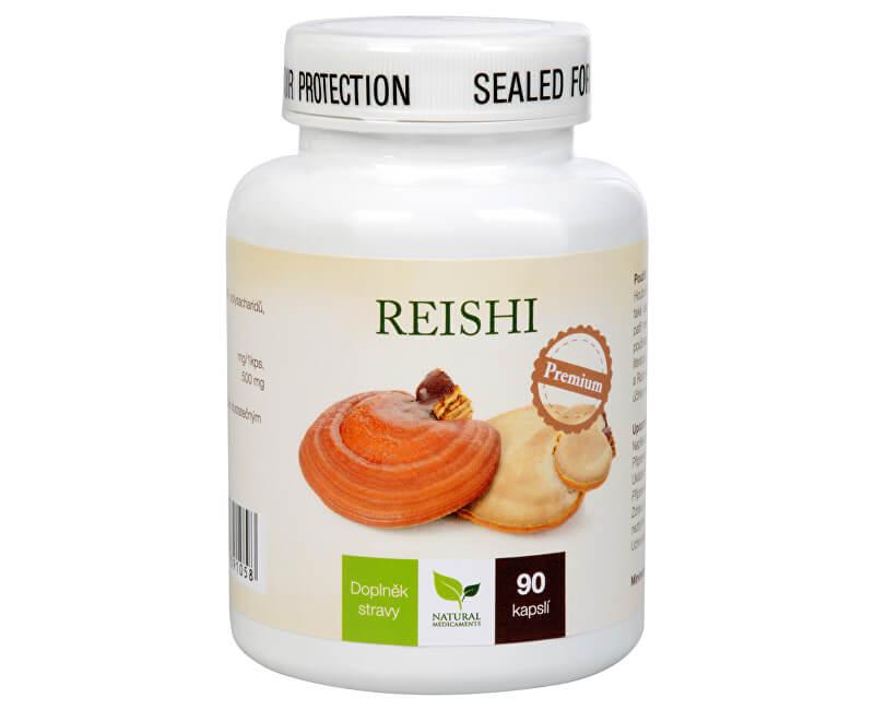 Natural Medicaments Reishi Premium 90 kapsúl