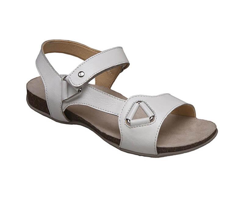 SANTÉ Zdravotní obuv dámská EKS 154-27 bílá  0f9cae92af