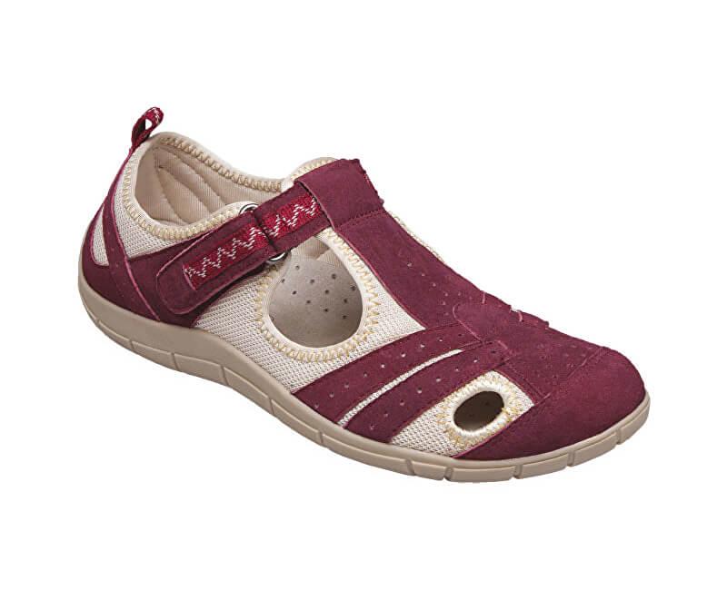 174e3fdb2 SANTÉ Zdravotná obuv dámska MDA / 159-22 vínová Doprava ZDARMA ...