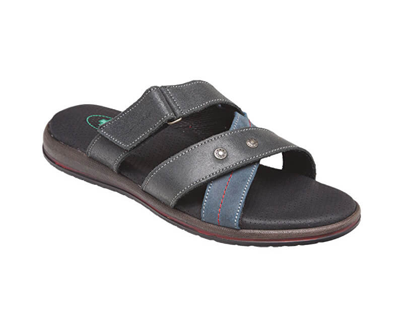 171816f6a84 SANTÉ Zdravotní obuv pánská N 164 12 069 086 černo-modrá