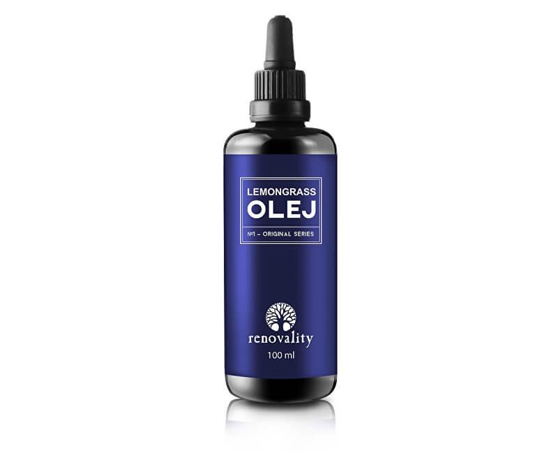 Renovality Lemongrass olej s pipetkou Renovality 100 ml