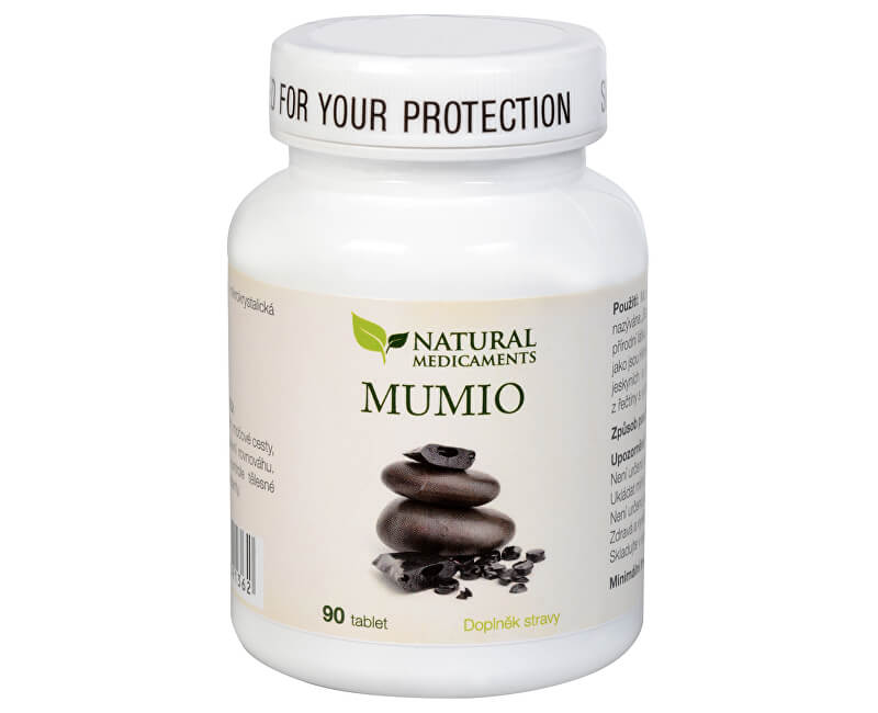 Natural Medicaments Mumio 250 mg 90 tabliet