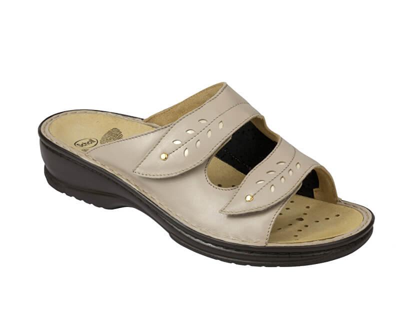 Scholl Zdravotní obuv BERNADETTE - béžová Doprava ZDARMA  89e5bc1bd9