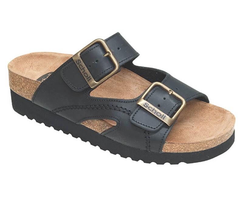 Scholl Zdravotní obuv MOLDAVA WEDGE AD - černá Doprava ZDARMA ... f1fb5257c48