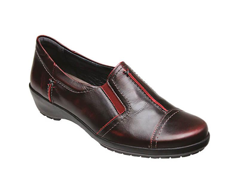 c7705709fbb2 SANTÉ Zdravotná obuv dámska SK   7113 Bordo Doprava ZDARMA ...