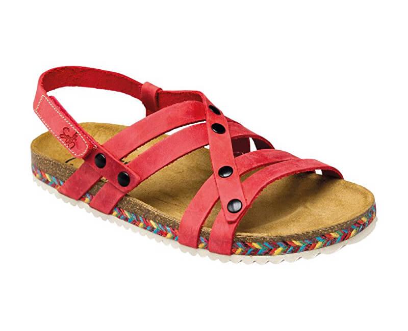 6cd5ab948 SANTÉ Zdravotní obuv dámská IB/7200C červená
