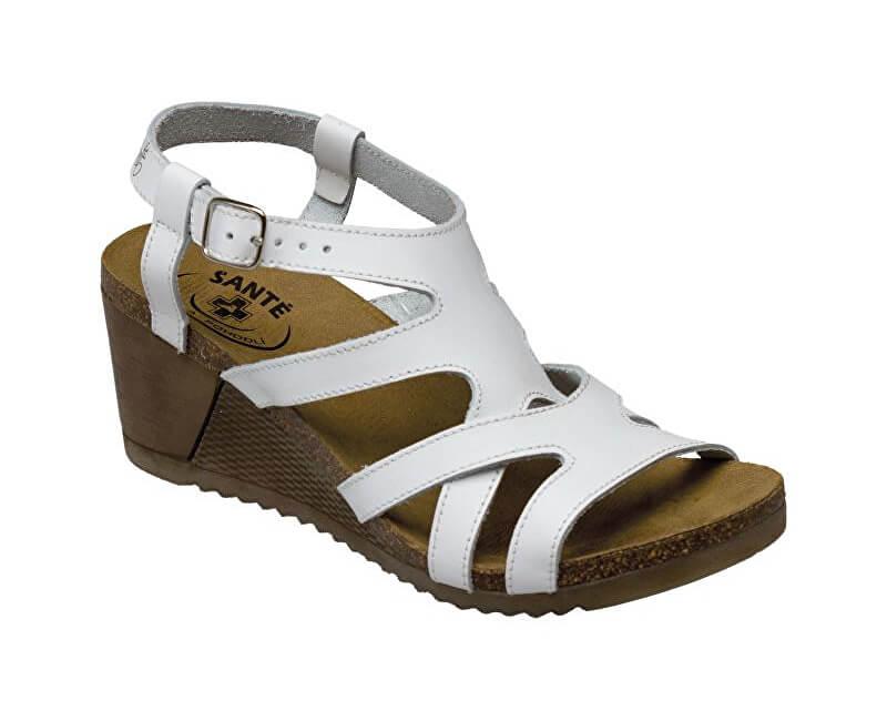 8cfdb99e34 SANTÉ Zdravotná obuv dámska IB   8287 biela Doprava ZDARMA ...