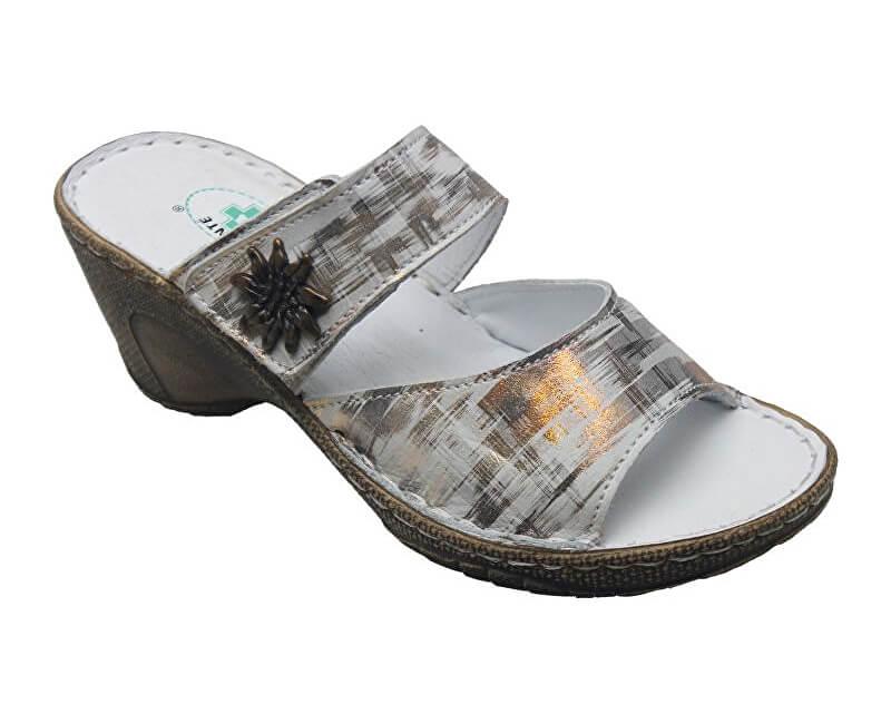24640ef5c0fef SANTÉ Zdravotná obuv dámska N / 309/2 / 10C metal | PreZdravie.sk ...