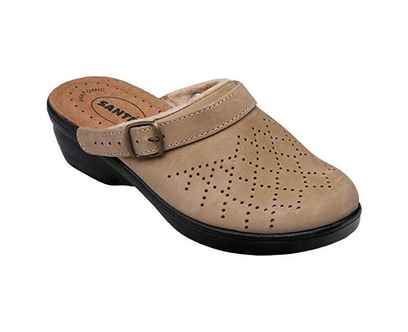 74a8d38060 SANTÉ Zdravotná obuv dámska PO   5284 béžová