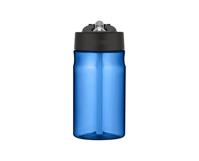 Thermos Dětská hydratační láhev s brčkem - modrá 350 ml  c646ce43782