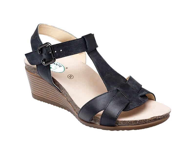 c8b7a951ef49a SANTÉ Zdravotná obuv dámska EKS / 152-31 BLACK čierna | PreZdravie ...